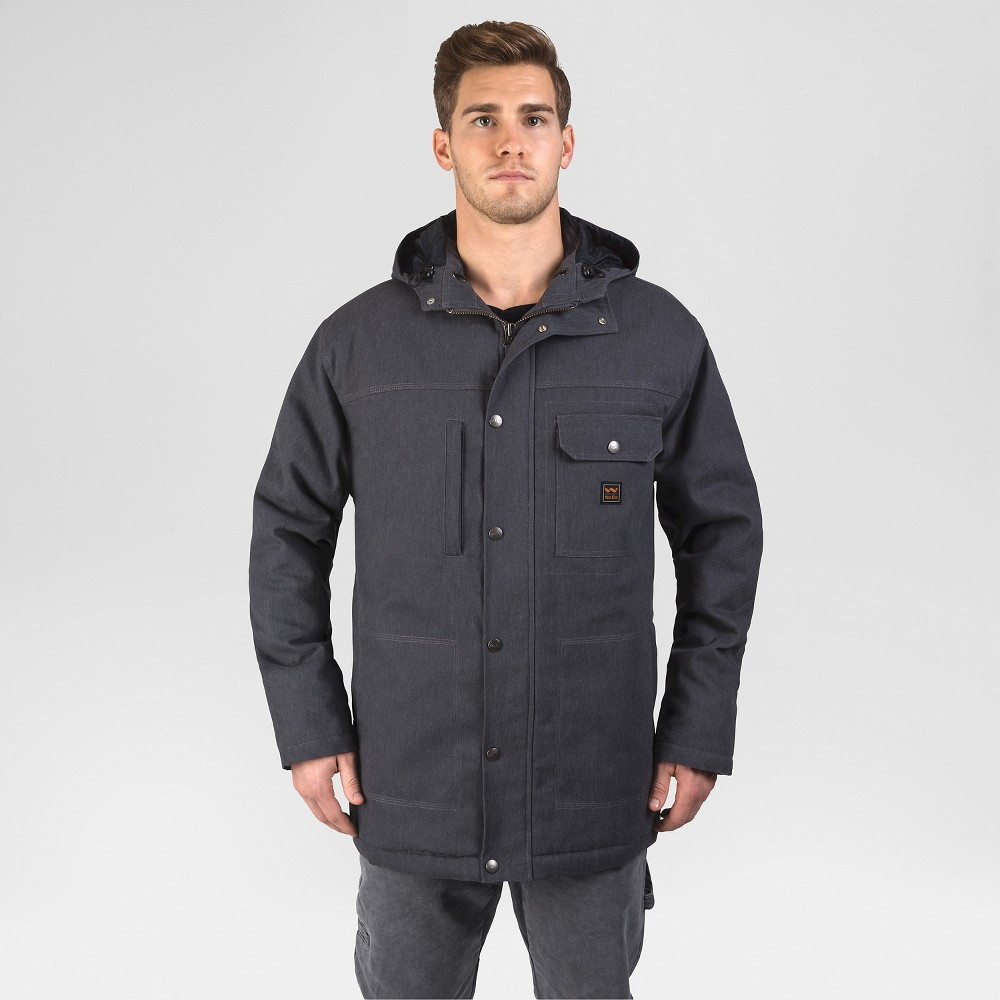 Walls Hooded Parka with Kevlar Graphite (Grey) XL, Mens