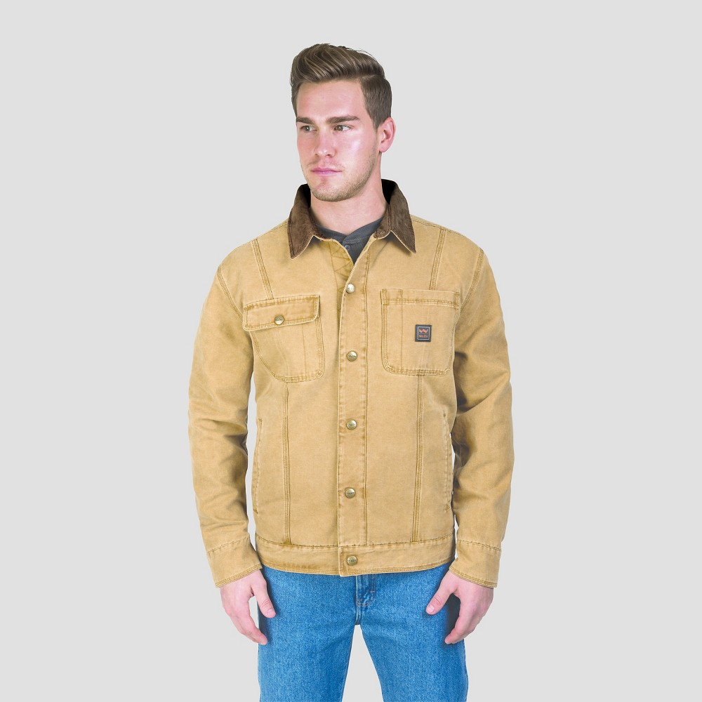 Walls Ranch Amarillo Duck Cotton Twill Jacket Pecan XL, Mens