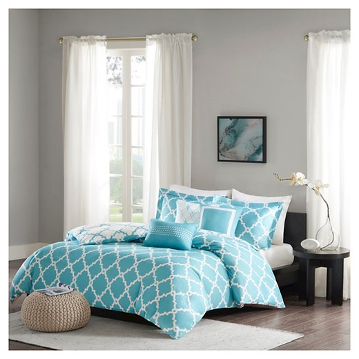 Becker Geometric Duvet Cover Set 6 Piece