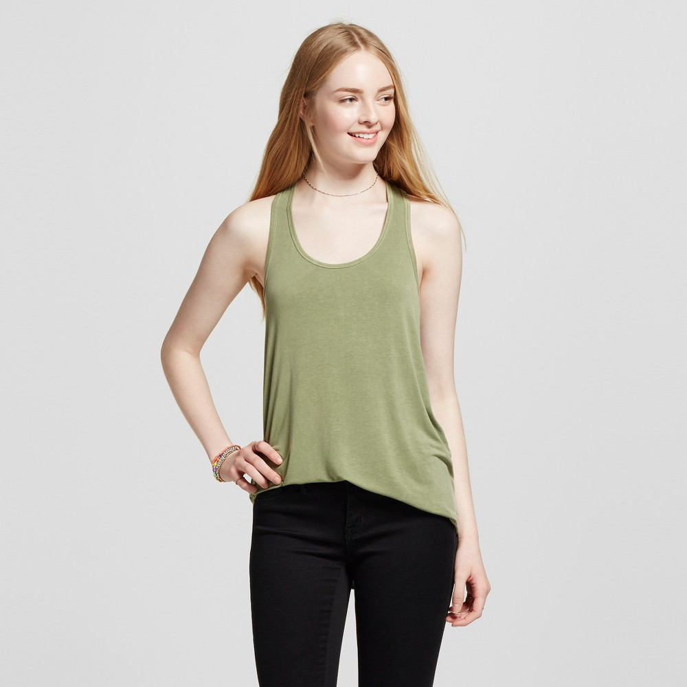 Womens Racerback Tank Top - Mossimo Supply Co. Olive (Green) M