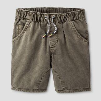 khaki jogger shorts : Target