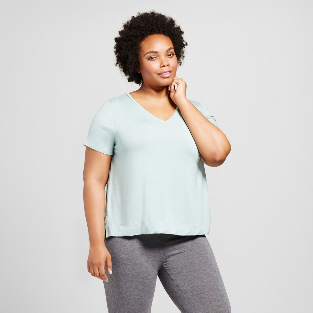 Womens Plus Size T-Shirt - Grayson Threads (Juniors) Academy Blue 3X