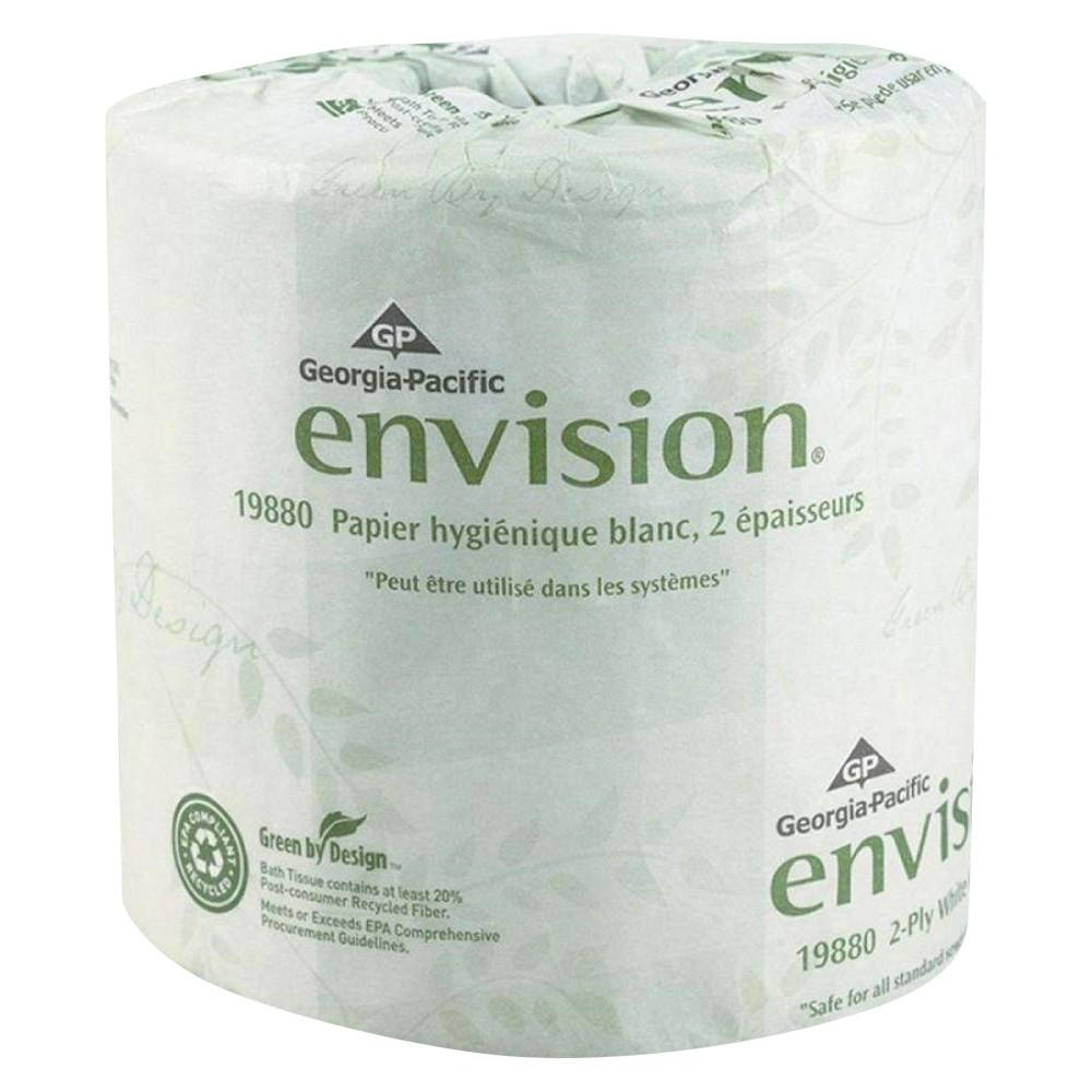 Upc 073310198804 Envision Bathroom Tissue 550 Sheets Per