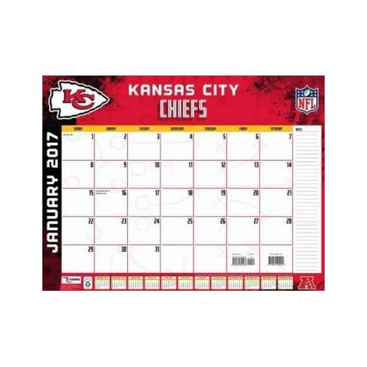 Kansas City Chiefs 2017 Calendar Paperback Target