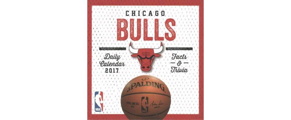 Chicago Bulls 2017 Calendar (Paperback)