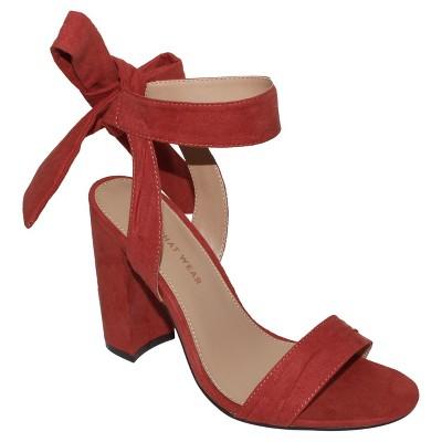 f094c475c238 Women s Michaela Block Heel Quarter Strap Sandals - Who What Wear™   Target