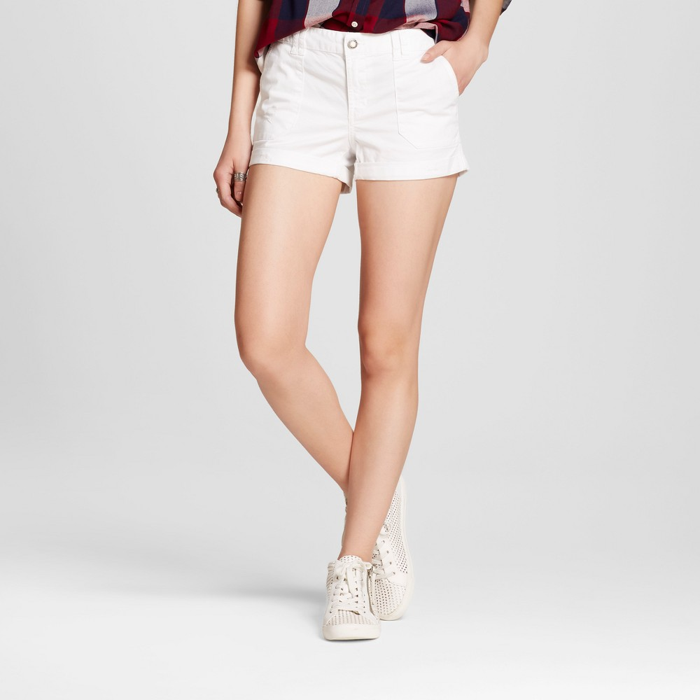 Womens Utility Shorts - Mossimo Supply Co. White 2