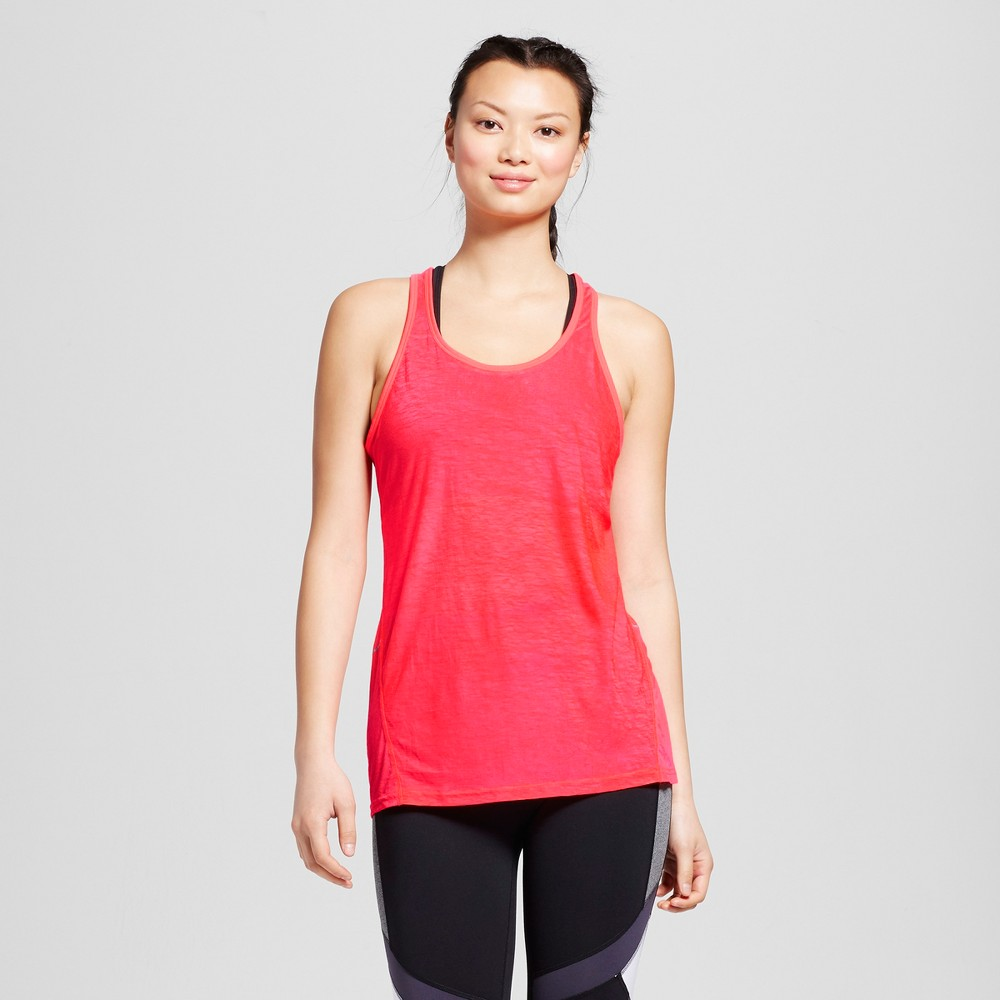 Women's Run Strappy Tank Top - C9 Champion Neon Flare S