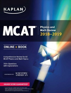 MCAT Physics and Math Review 2018-2019 (Paperback)
