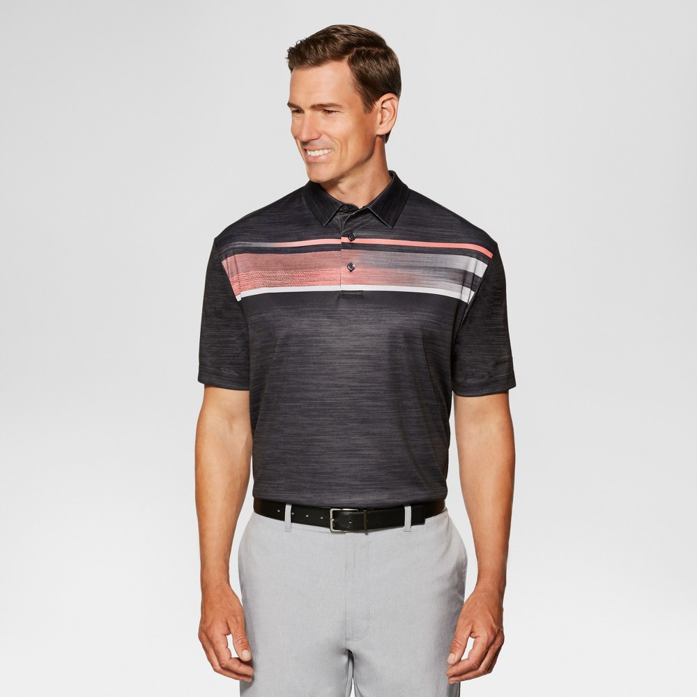 Mens Activewear Polo Shirts - Jack Nicklaus Charcoal M, Gray