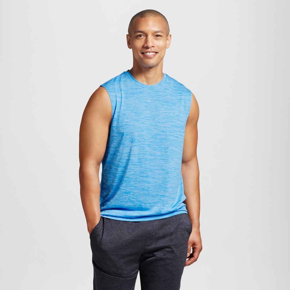 Men's Sleeveless Tech T-Shirt - C9 Champion - Hydro Blue Heather Xxl