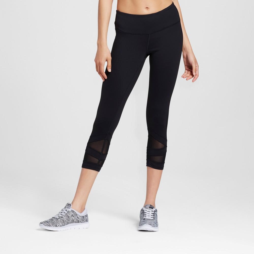 Womens Premium Mesh Leggings - C9 Champion Black Xxl