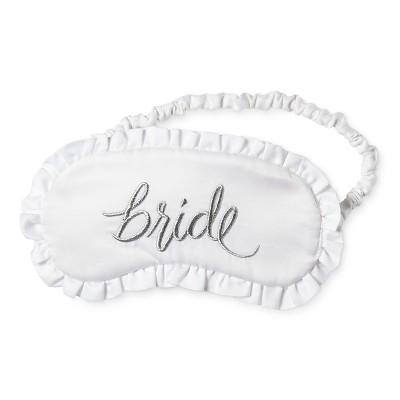 Bride & Beauties® by Bedhead Pajamas® Women's Wedding Eyemask - Bride - White