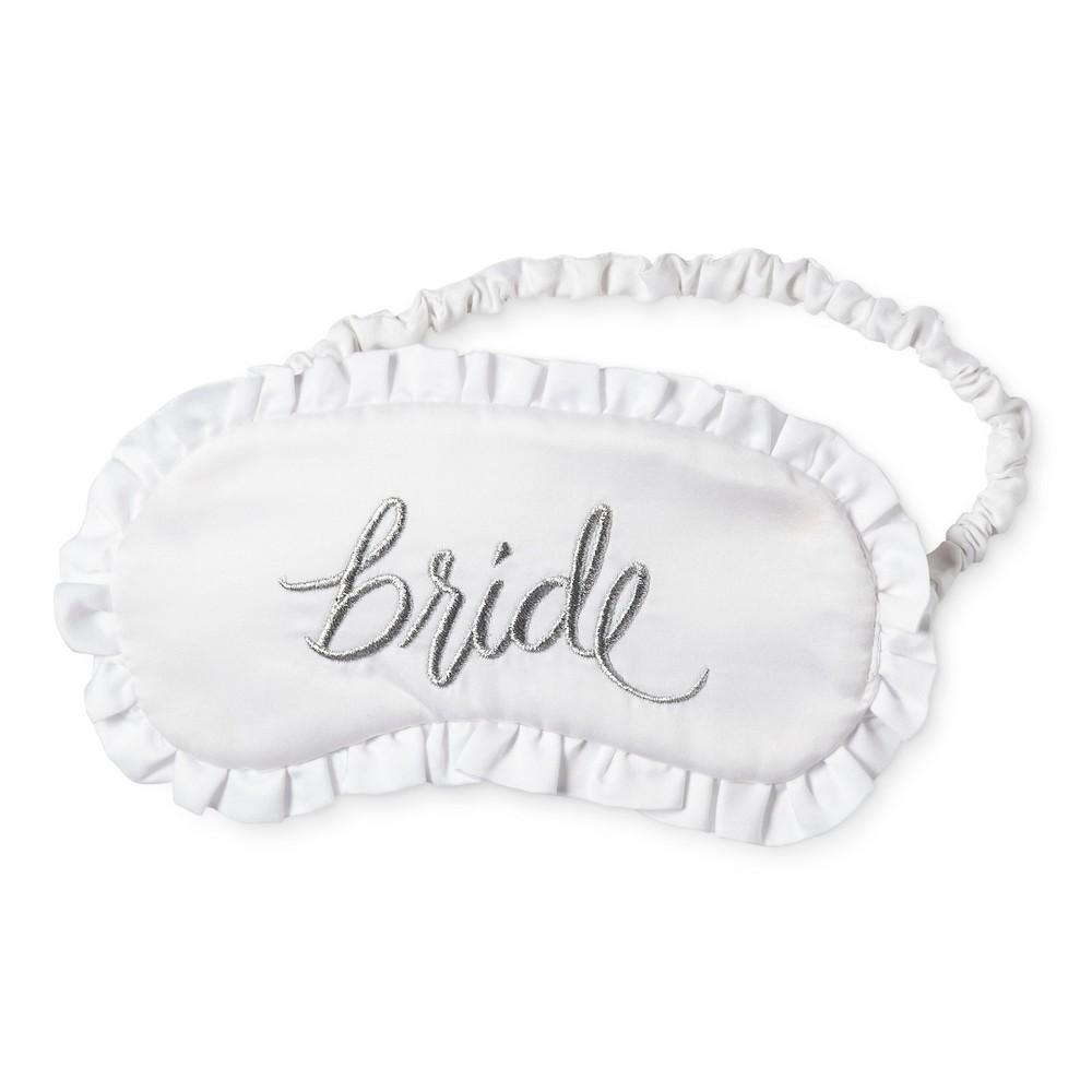 Bride & Beauties by Bedhead Pajamas Women's Wedding Eyemask – Bride – White