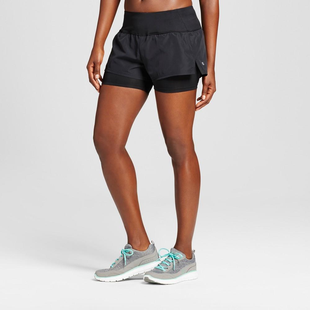 Women's 2-in-1 Shorts - C9 Champion - Black Xxl