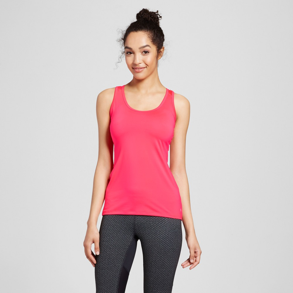 Womens Fitted Tank Top - C9 Champion - Neon Flare L