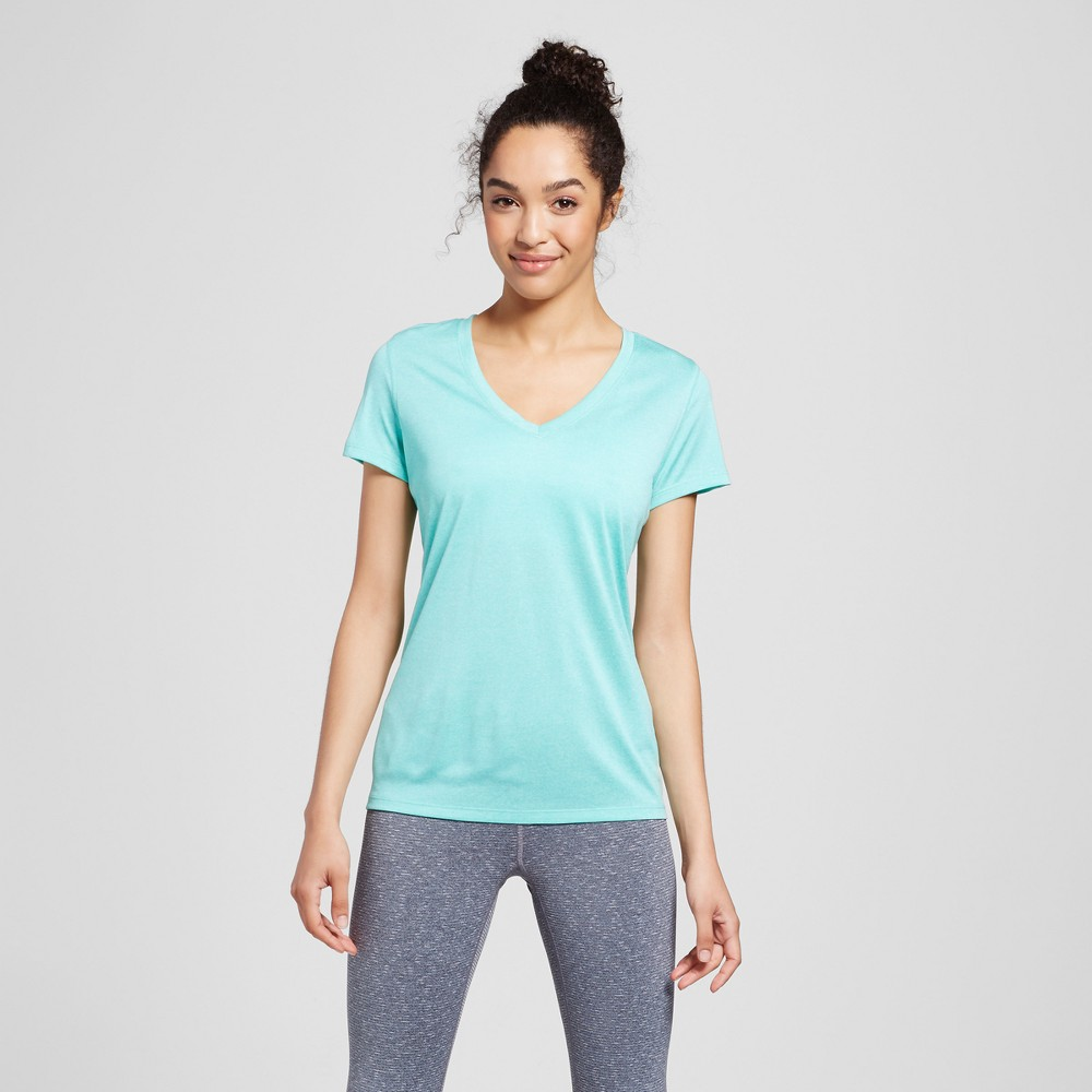 Women's Tech T-Shirt - C9 Champion - Breezy Green Heather L