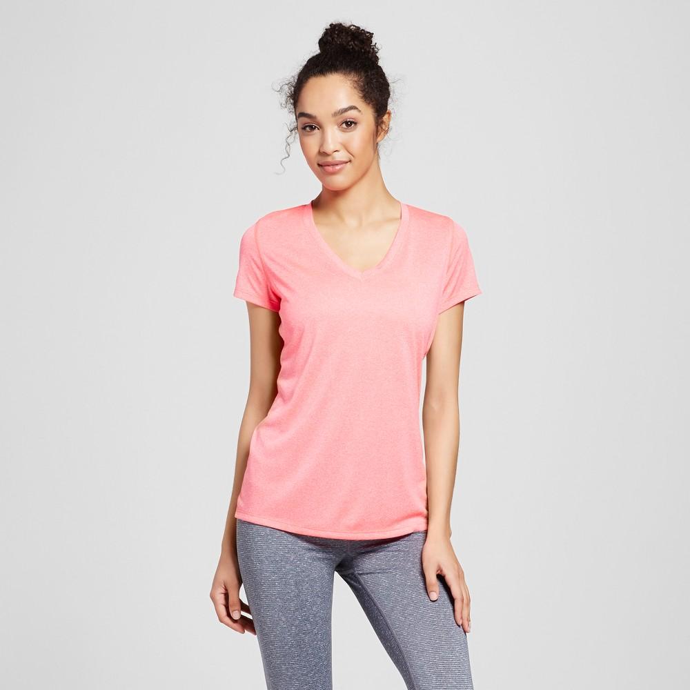 Womens Tech T-Shirt - C9 Champion - Neon Flare Heather Xxl