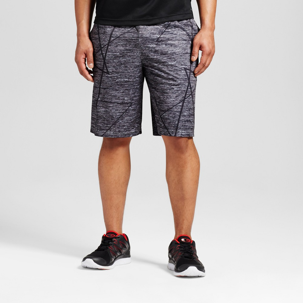 Mens Printed Circuit Shorts - C9 Champion - Gray Xxl