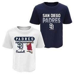 MLB Toddler Boys' Little Fan 2pk T-Shirt Set