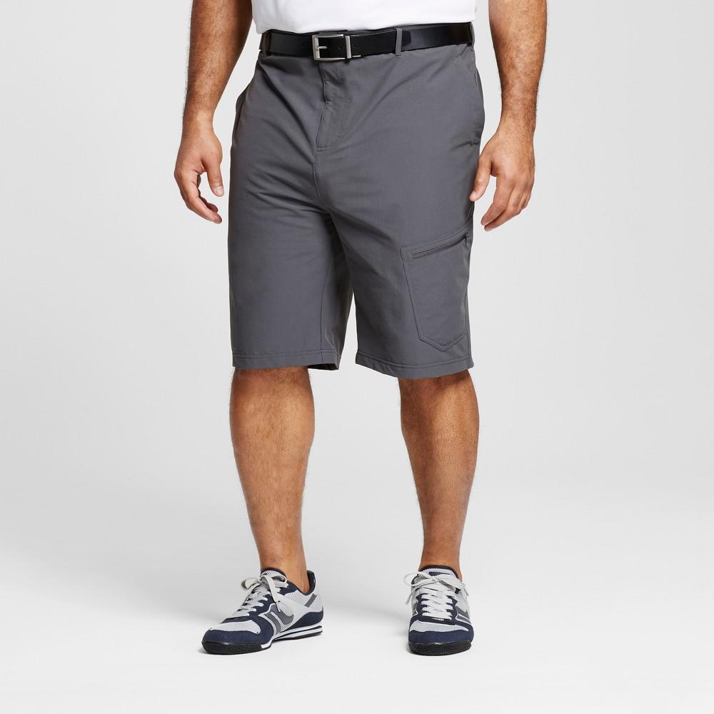 Mens Big & Tall Golf Cargo Shorts - C9 Champion - Gray 56, Railroad Gray
