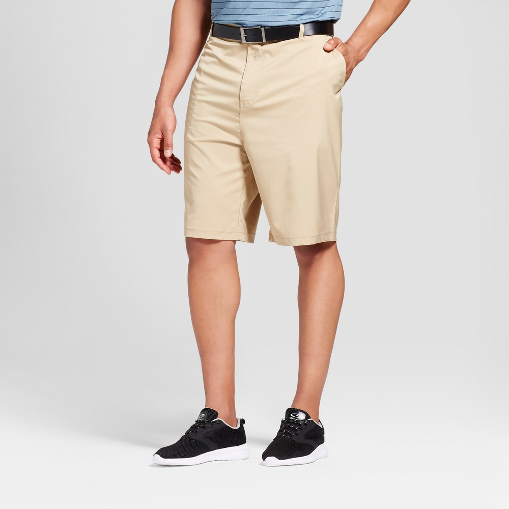Mens Big & Tall Golf Cargo Shorts - C9 Champion Khaki (Green) 46