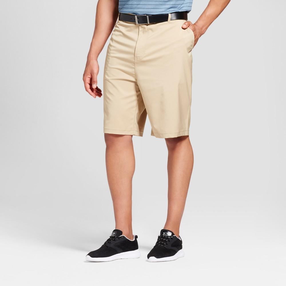 Mens Big & Tall Golf Cargo Shorts - C9 Champion Khaki (Green) 58