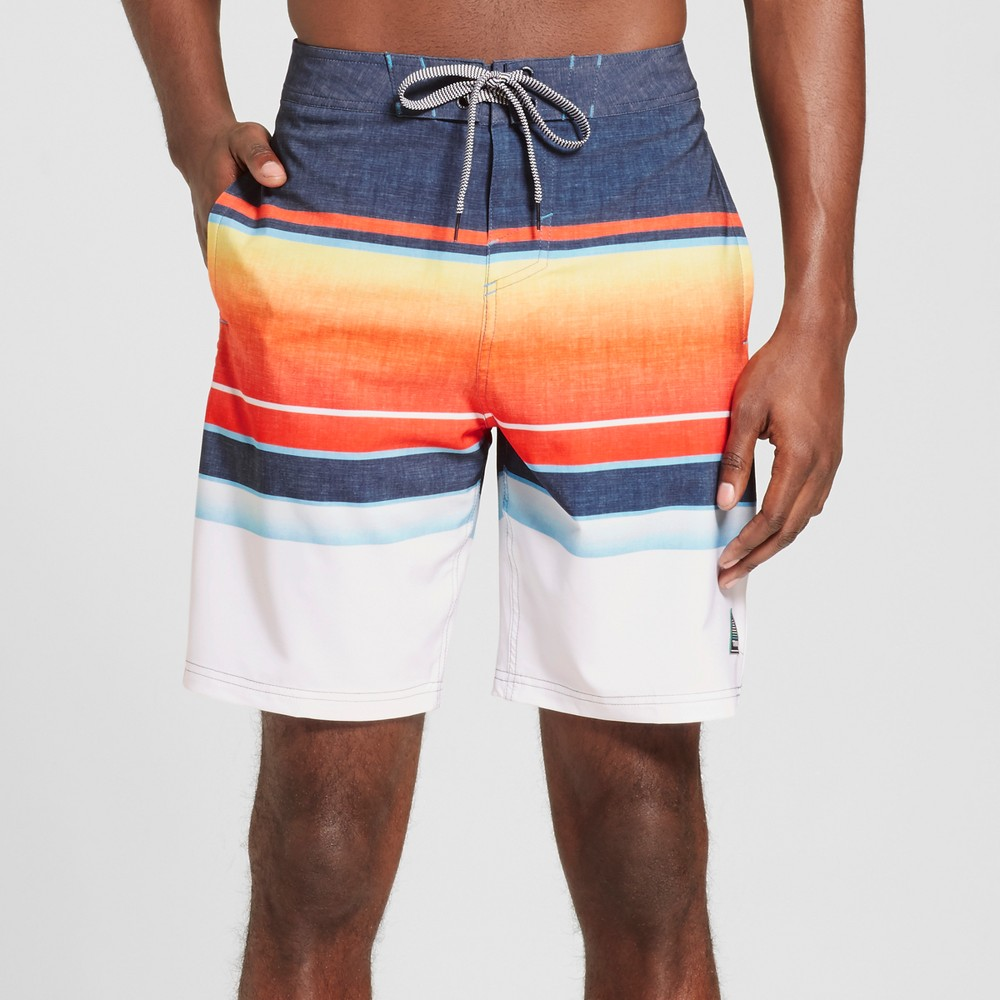 Mens Hydro Board Shorts - Trinity Collective Blue 34