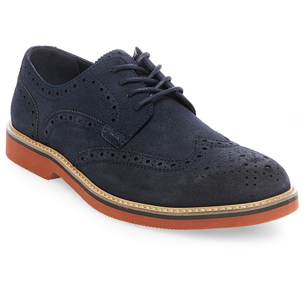 Mens SoHo Cobbler Victor Oxford - Navy (Blue) 12