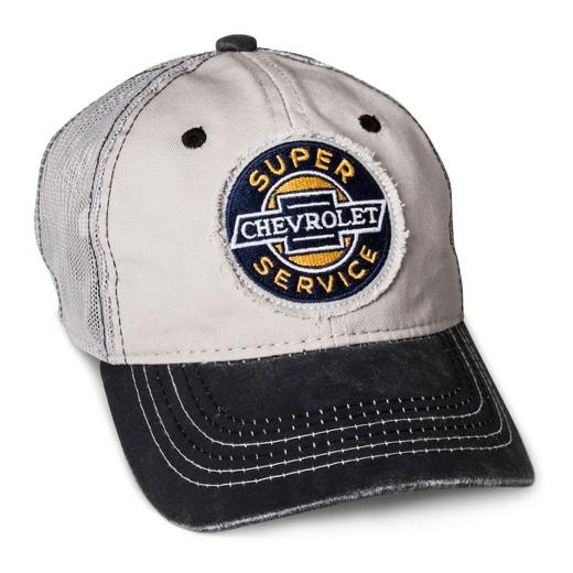 7f0167bdd9e Outdoor Cap Men s Chevy Mesh Back Baseball Cap – Light Gray One Size