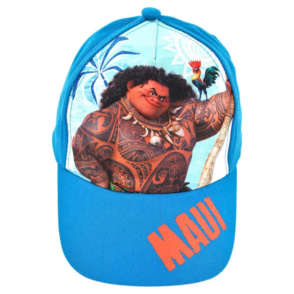 Disney Moana Baseball Hat - Blue One Size, Boys