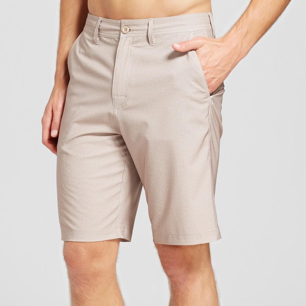 Mens Archer Hybrid Shorts - Trinity Collective Khaki (Green) 38