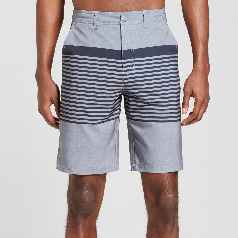 Mens Aquarius Hybrid Shorts - Trinity Collective Gray 30