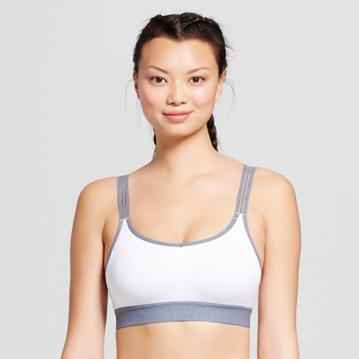 Women's Strappy V-Back Sports Bra - C9 Champion® : Target