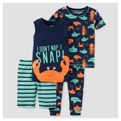 Toddler Boys' Pajama Set - Just One You™ Made by Carter's® Teal 12M
