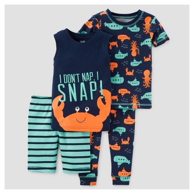 Toddler Boys' Pajama Set - Just One You™ Made by Carter's® Teal 18M