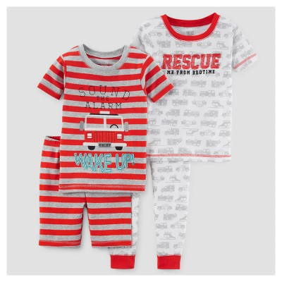 Toddler Boys' Pajama Set - Just One You™ Made by Carter's® Red 12M