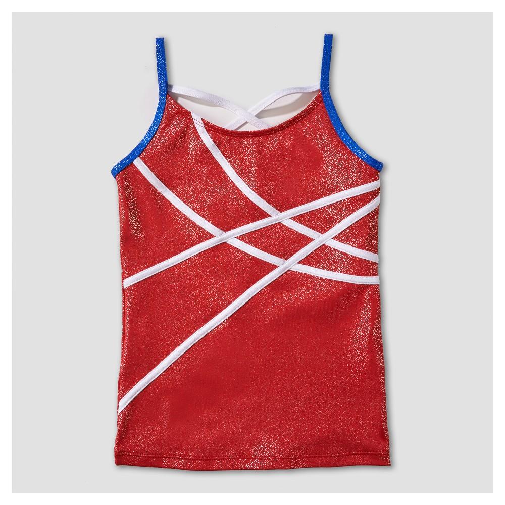 Freestyle by Danskin Girls' Activewear Tank Top - Red XS