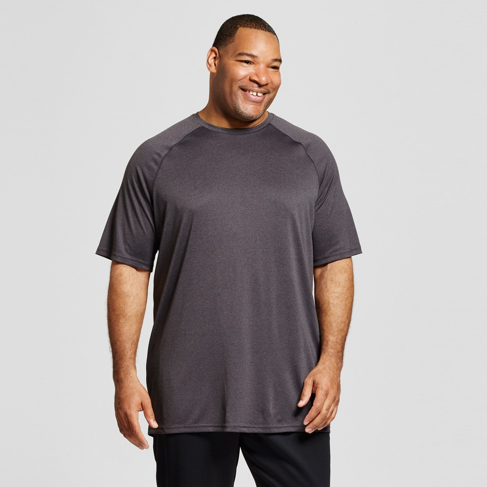 Mens Big & Tall Tech T-Shirt - C9 Champion - Charcoal Heather MT