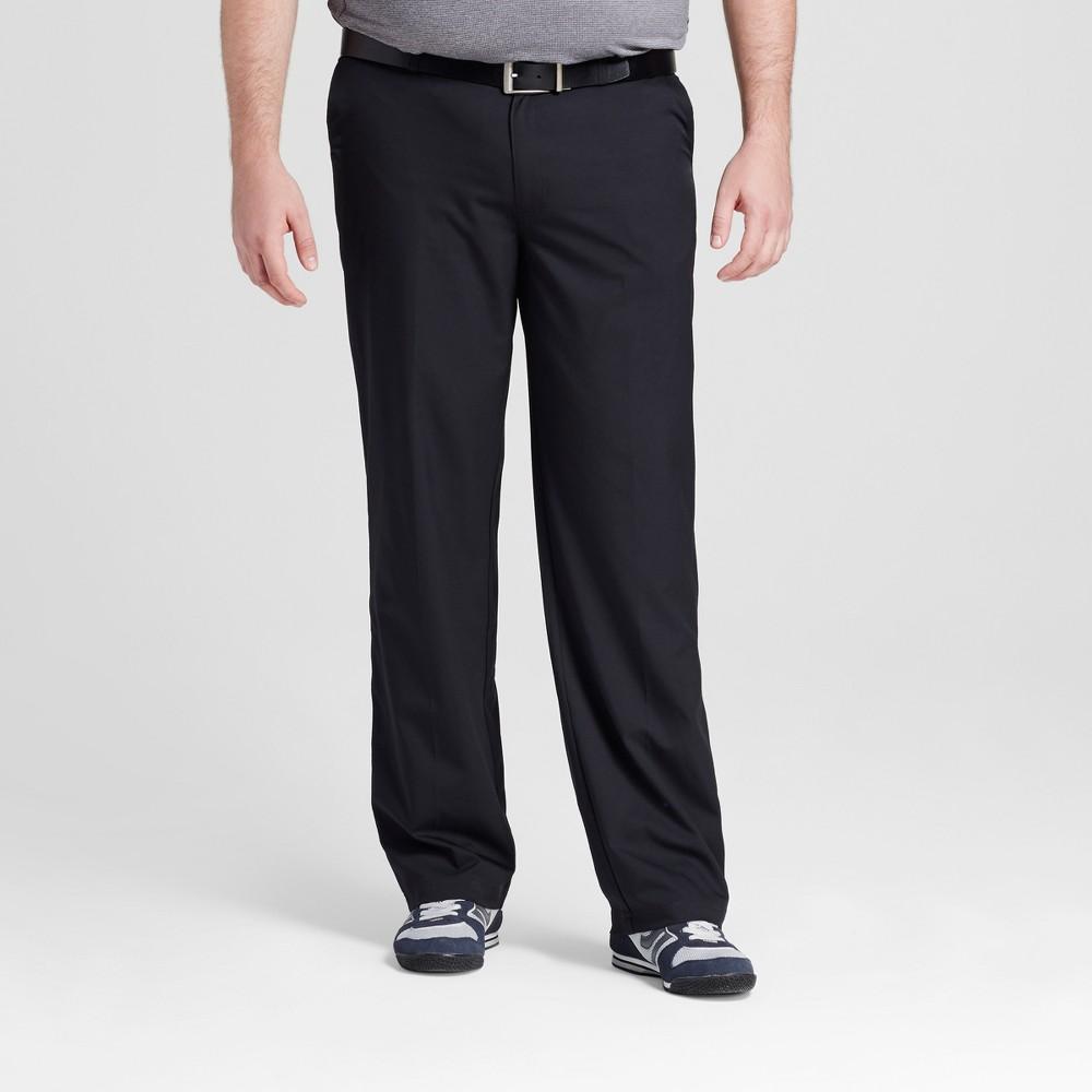 Mens Big & Tall Golf Pants - C9 Champion - Black 46x30