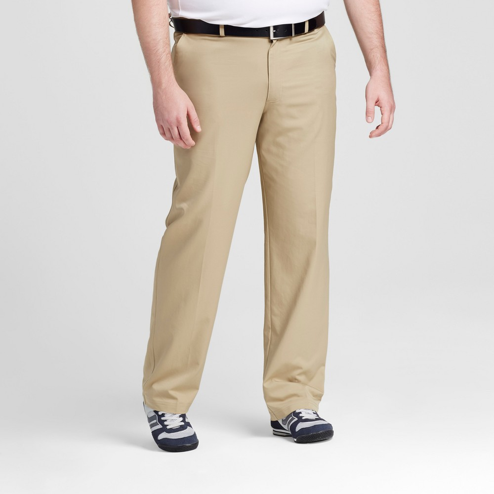 Mens Big & Tall Golf Pants - C9 Champion Tree House Khaki 46x32