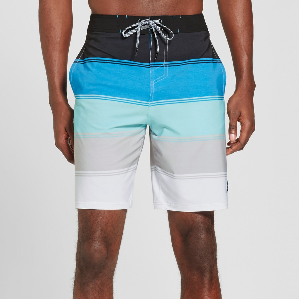Mens Quintant Board Shorts - Trinity Collective Blue 34