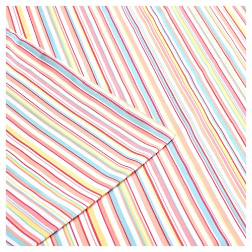 Multi Stripe Sheet Set (Full) Pink