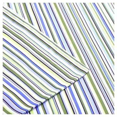 Multi Stripe Sheet Set (Queen)Blue