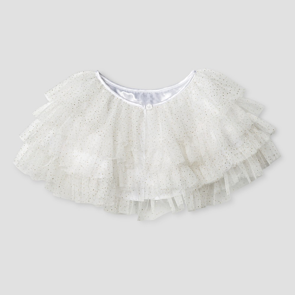 Toddler Girls Wow Tiered Ruffle Jacket Cat & Jack - White 3T