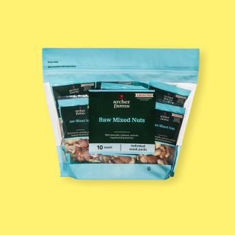 Raw Mixed Deluxe Nuts - 10ct - Archer Farms™