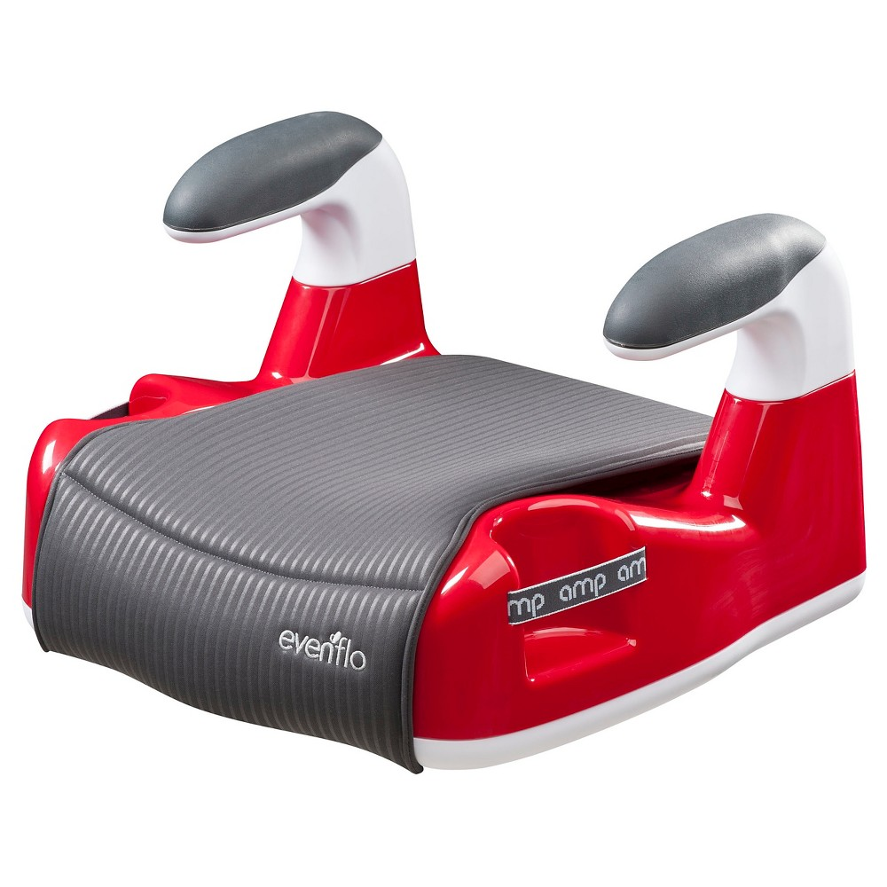 Evenflo Amp Performance Dlx No Back Booster Car Seat Red