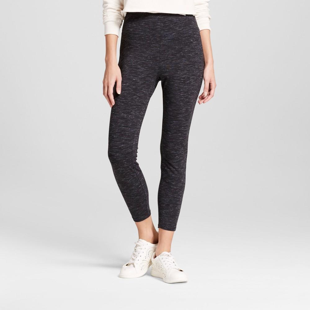 Women's Crop Leggings - Mossimo Supply Co. Charcoal (Grey) XL