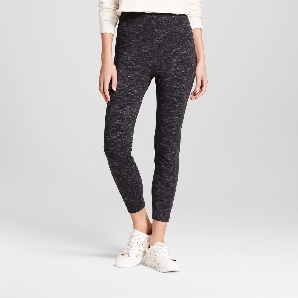 Women's Crop Leggings - Mossimo Supply Co. Charcoal (Grey) S