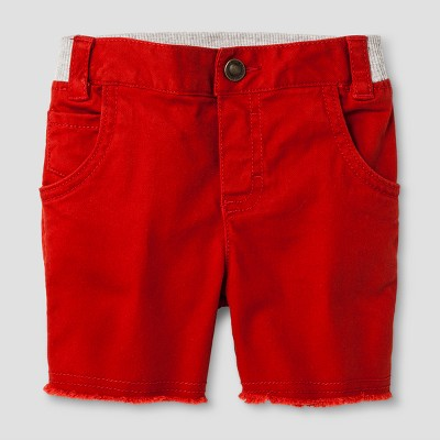 Baby Boys' Chino Shorts Red Oak 12M - Genuine Kids™